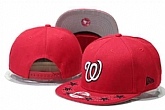 Nationals Fresh Logo Red With Star Adjustable Hat GS